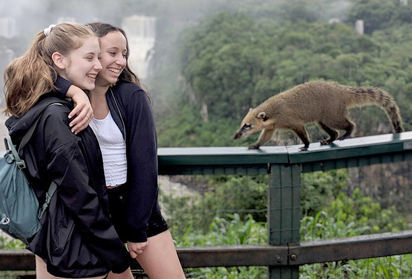 Upper school curricular travel to Argentina