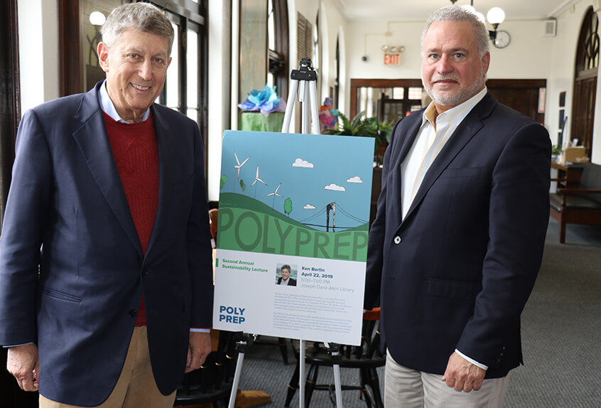 Ken Brelin and Ira Feldman Sustainability award