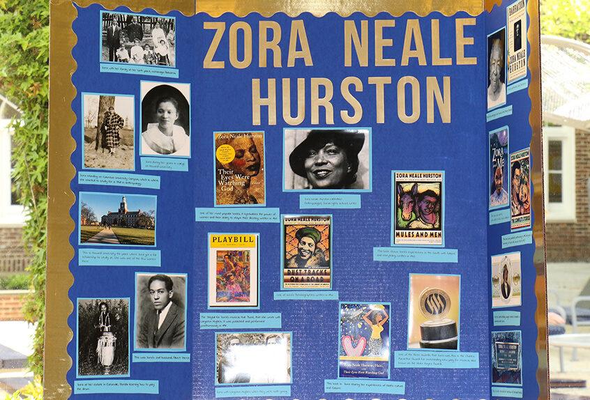 Middle School Harlem Renaissance zora neale hourston student project