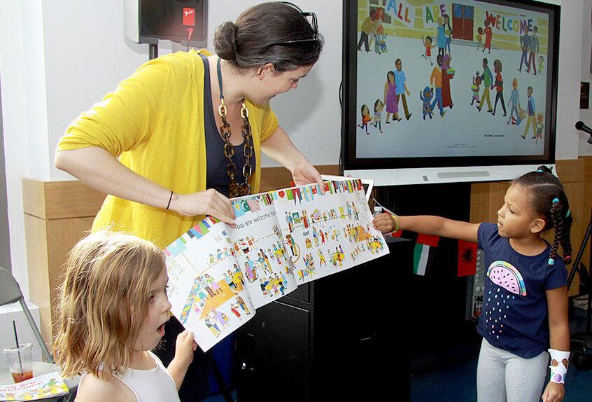 Alexandra Penfold, lower school author visit