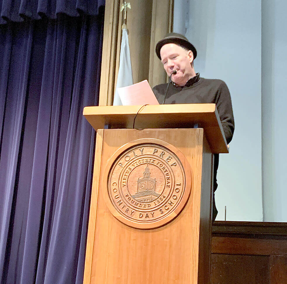 Author Rick Moody