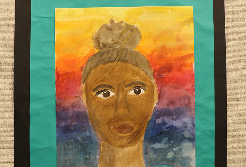 Winter art show 2019 student art