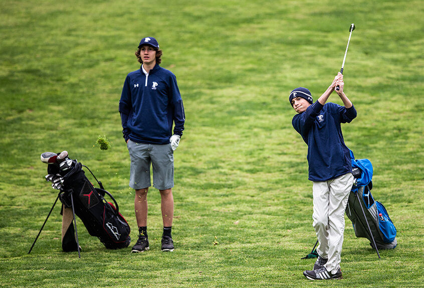 Poly prep golf players