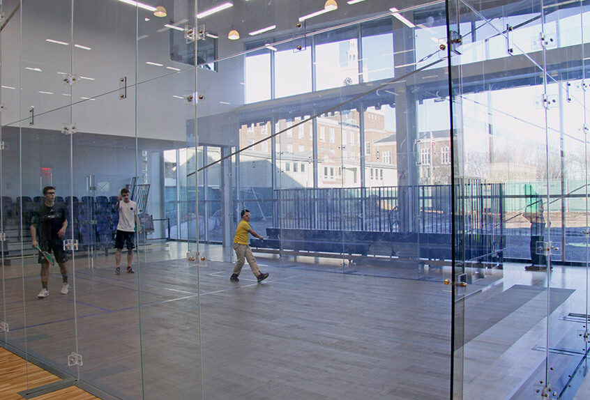 Poly Prep squash facilities