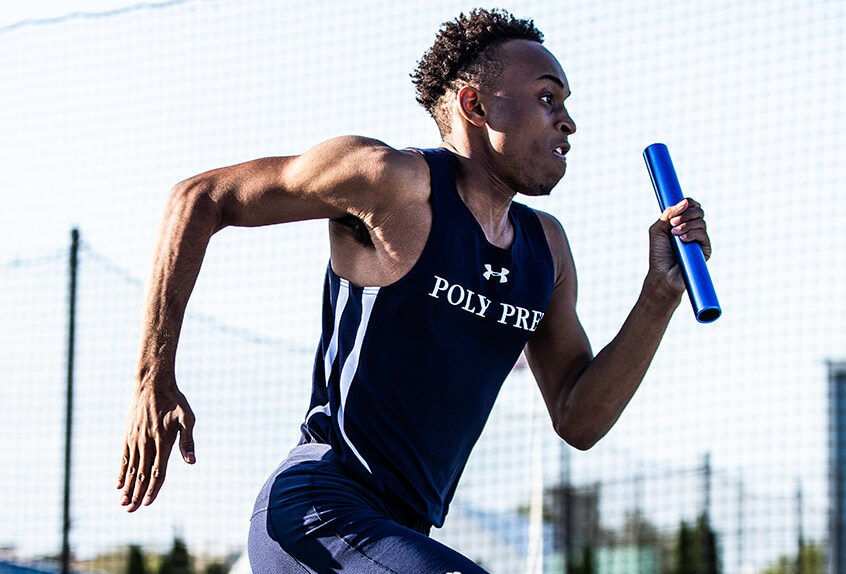 Boys track and field