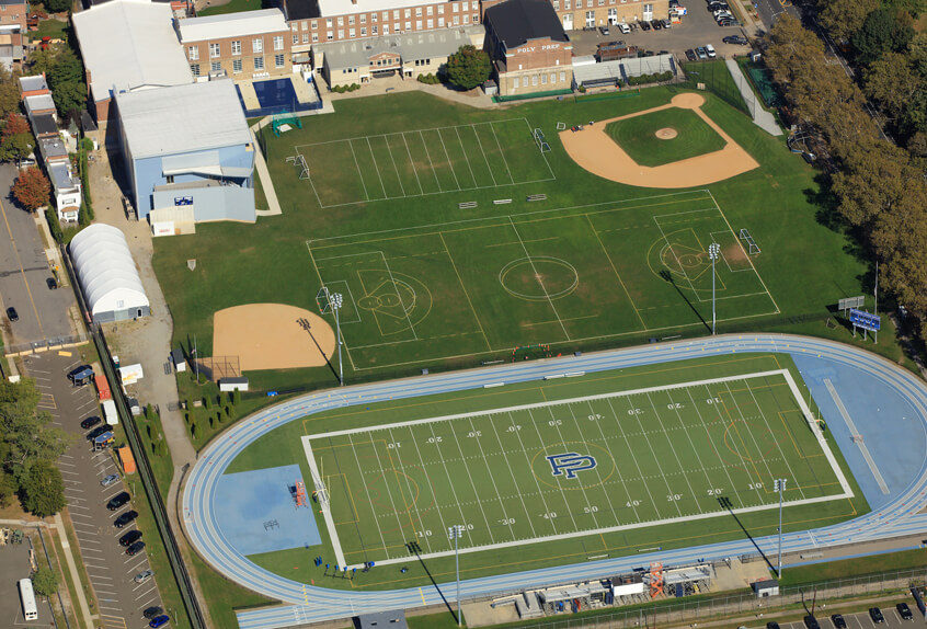 Track and field facilities
