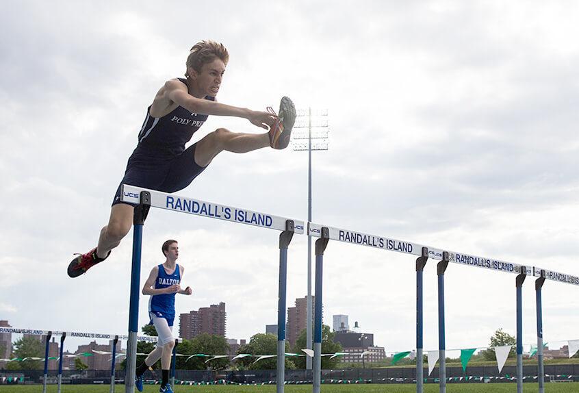 track and field hurdles