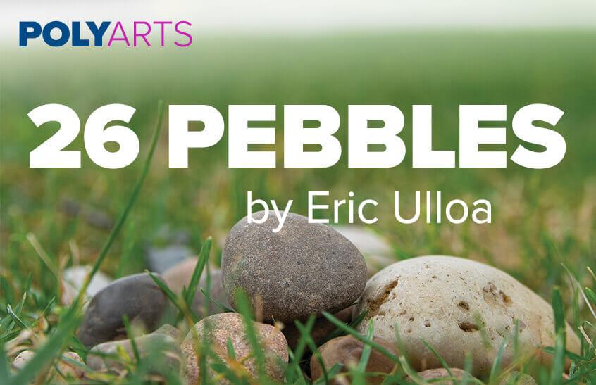 26 Pebbles event poster art