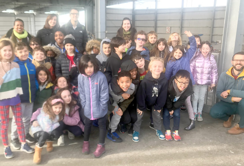 Lower School Recycling Trip