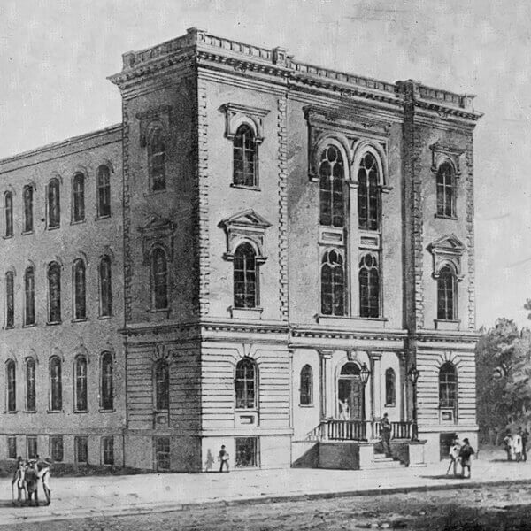 Historic image of the Livingston Street Building
