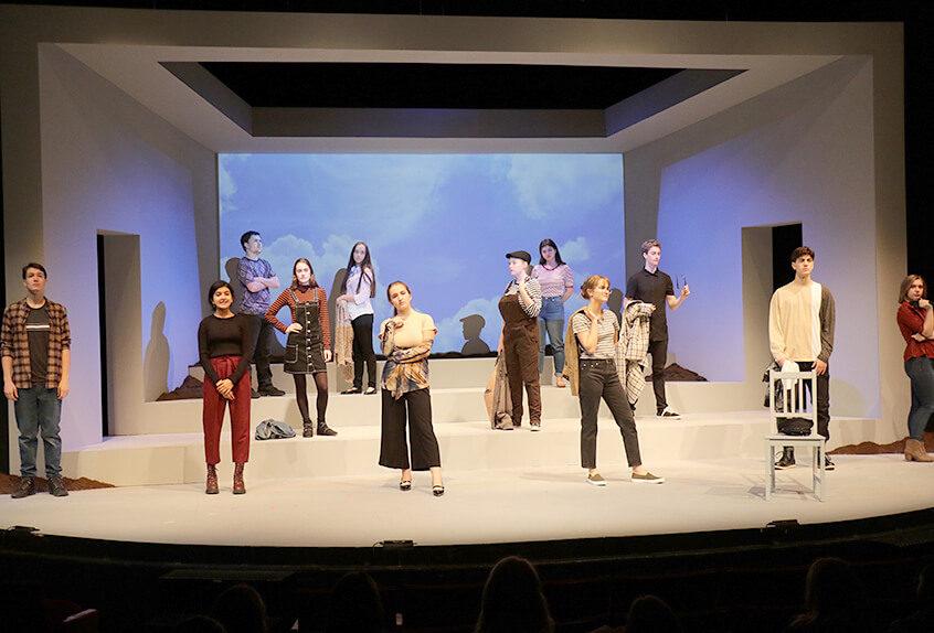 Upper School drama Laramie Project