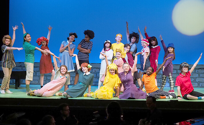 Middle School Musical You're a Good Man, Charlie Brown