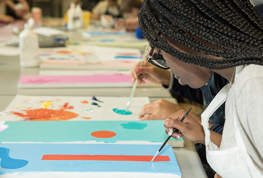 Upper schools painting