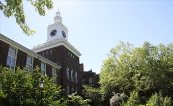 Dyker Heights campus clocktower