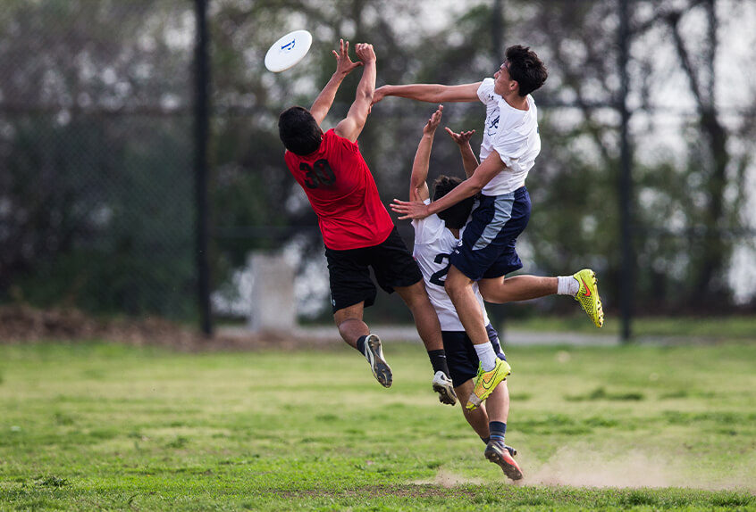 Poly Prep boys ultimate frisbee