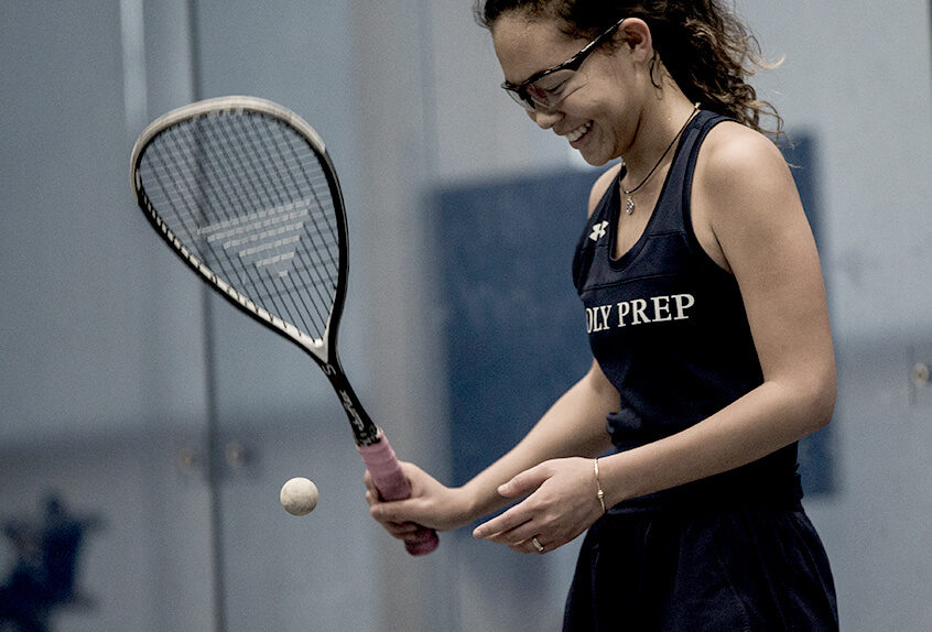 Squash star Lark Ervasti '20 recognized as All-American