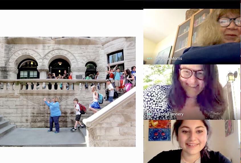 Virtual Lower School Visit By Graduating Seniors
