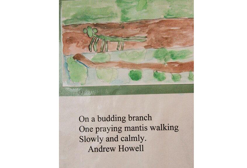 4th Grade poem 2012 Andrew Howell
