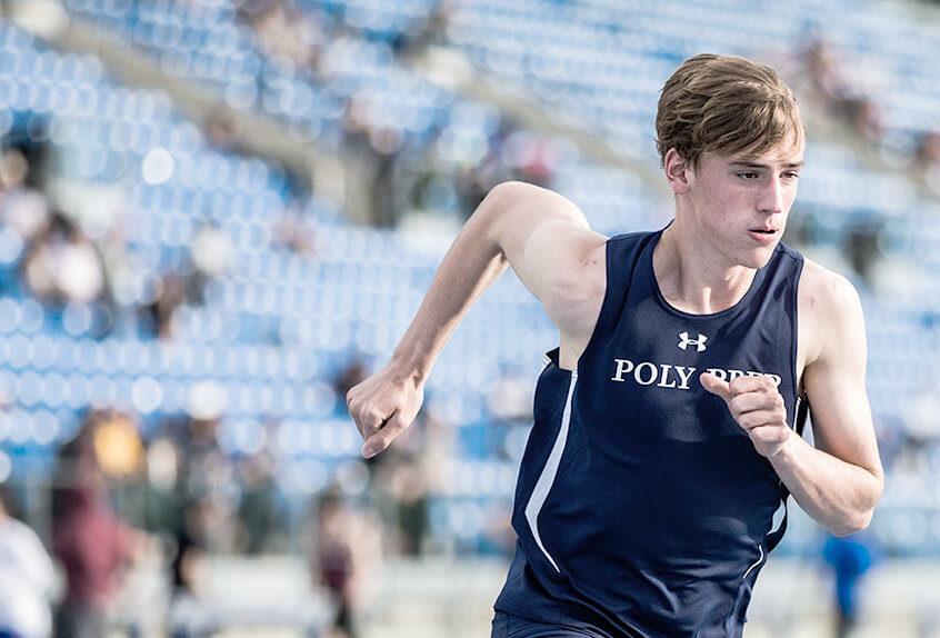 Quinn Lansill running