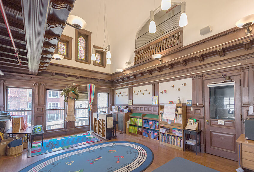 Poly Prep lower school interior