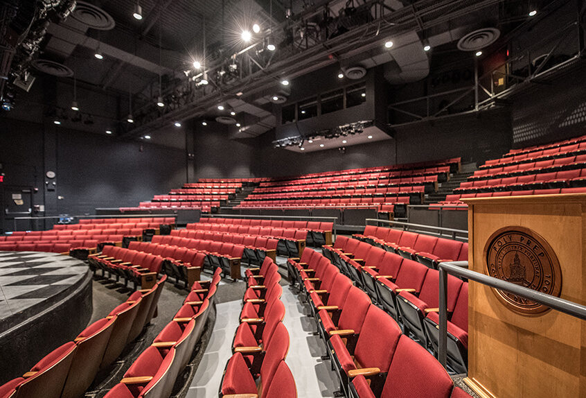 Poly Prep theater interior