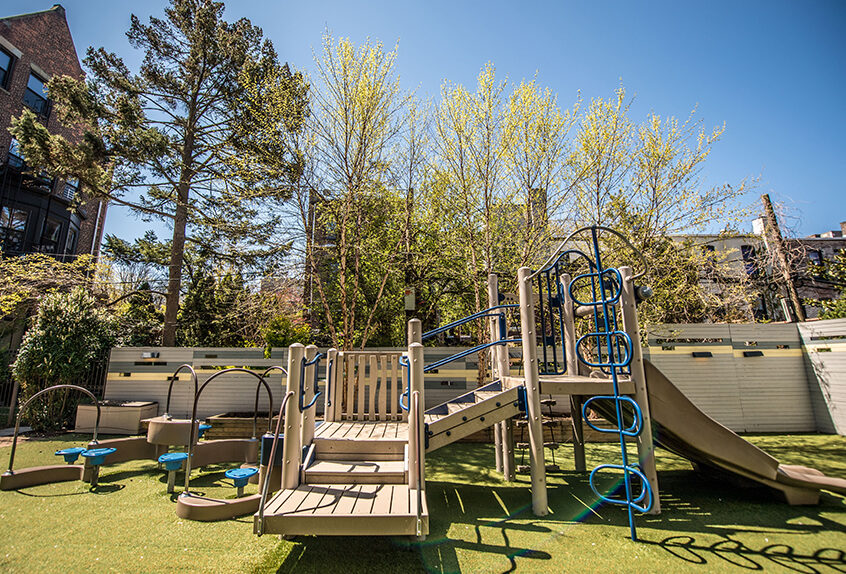 Poly Prep lower school playground