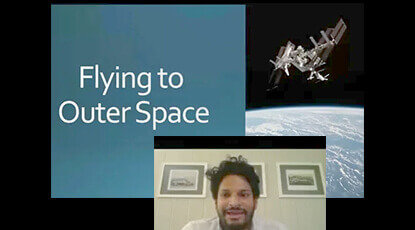 Neel Nayak of SpaceX visits Nursery