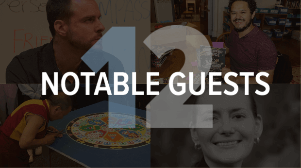 12 Notable Guests
