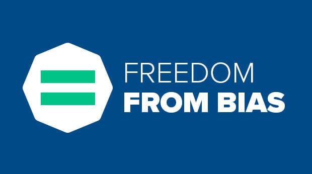 Freedom From Bias logo