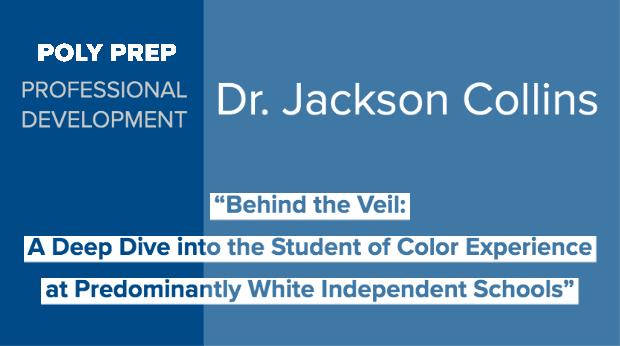 Dr. Jackson Collins Professional Development Speaker