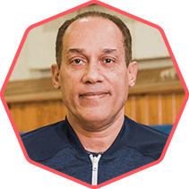 Basketball Coach Edgar De La Rosa