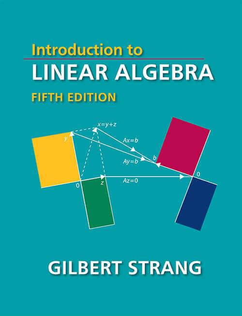 Linear Algebra Course text book cover