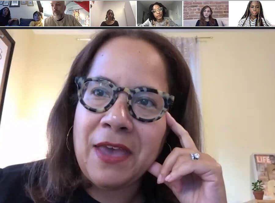 Dr. Erica Armstrong Dunbar on Zoom