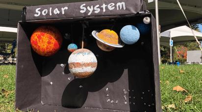 Leo's Grade 5 Solar System