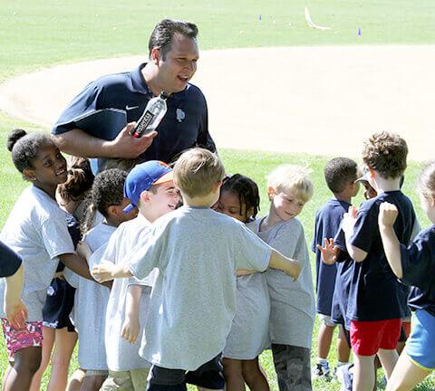 Matt Durando '96, P'30 with kids