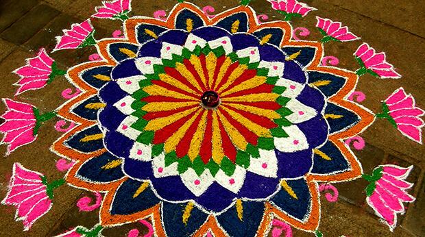 Diwali artwork