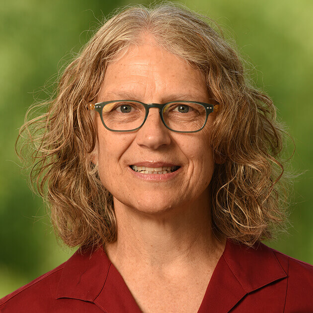 Upper School science teacher Debbie Van Ryn