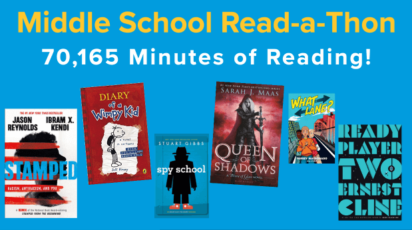 Middle School Read-a-thon January 2021