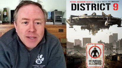 Producer Paul Hanson Discusses District 9 with Grade 10 English