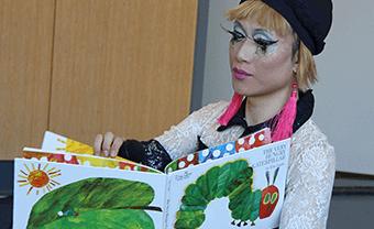 Lower School drag queen story hour