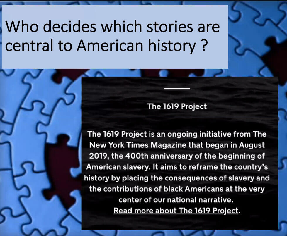 Poly Connected: Who decides which stories are central to American history/