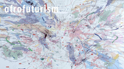 "Afrofuturism ""Entropia,"" by artist Julie Mehretu"