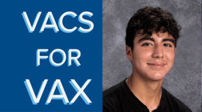 Vacs for Vax Ethan Gilbert '22
