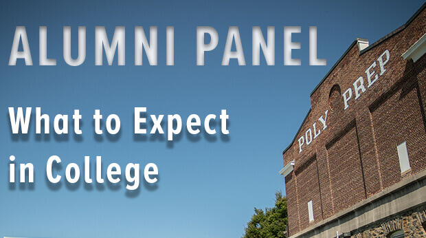 Alumni panel discusses What to expect in College