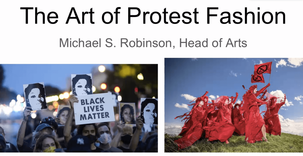 Art of Protest Fashion