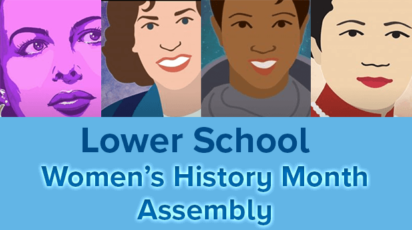 Lower School Women's History Month Assembly 2021