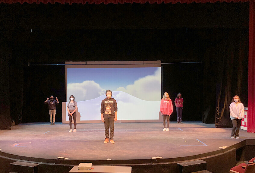 US Musical Songs for a New World Rehearsal