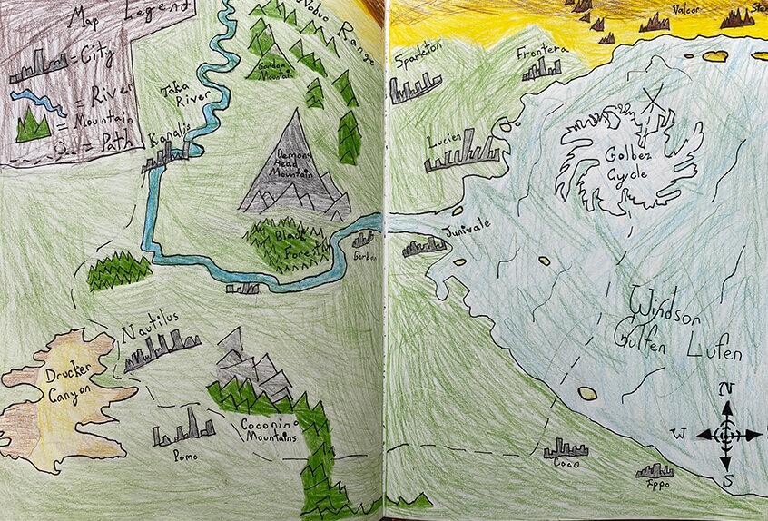 Grade 3: Mapmaking Cartography, Liliana R. '30