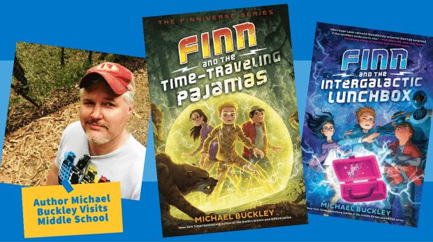 Michael Buckley Middle School Author Visit