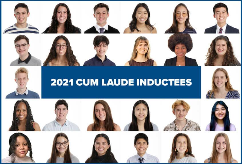 2021 Cum Laude Inductees